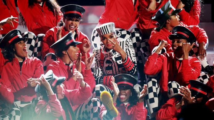 Janelle Monae performs onstage at the