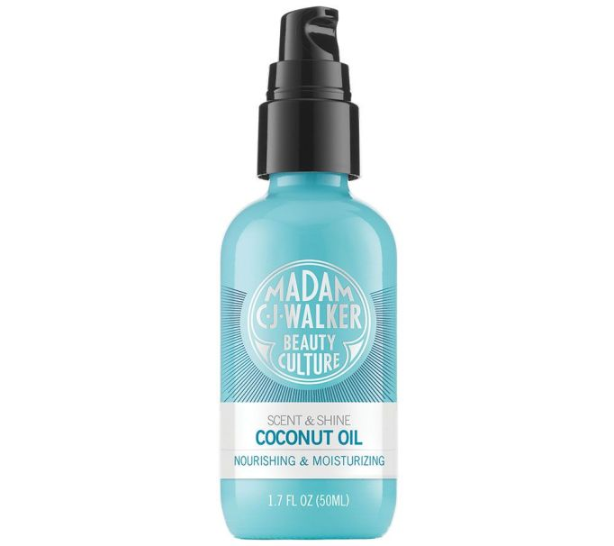 Best Coconut-Oil Beauty Products to Try Today: Madam C.J. Walker Beauty Culture Scent & Shine Coconut Oil | Summer body care 2017
