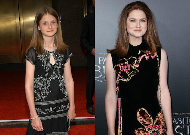 'Harry Potter' Cast: Then & Now: Bonnie Wright