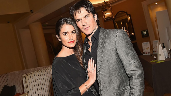 Ian Somerhalder & Nikki Reed Are