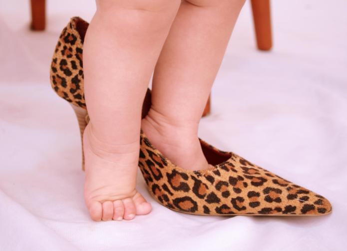 Sexy Kardashian baby clothes don't belong