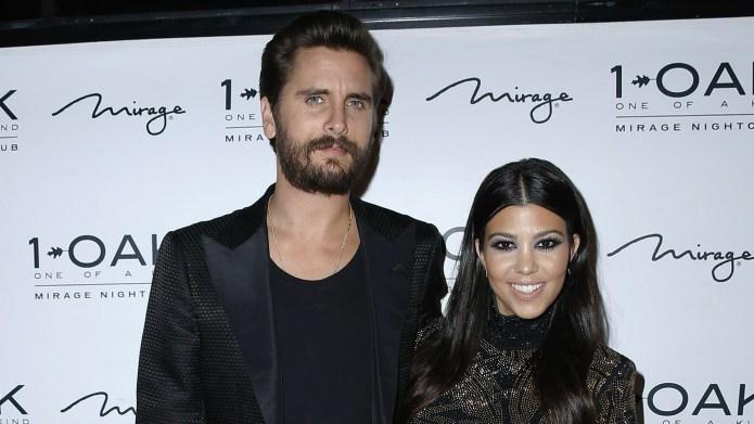 Kourtney Kardashian & Scott Disick may