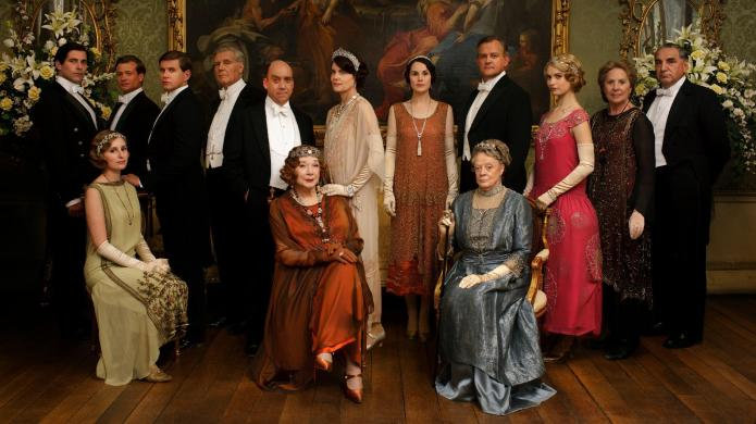 Downton Abbey promo ablaze with jaw-dropping