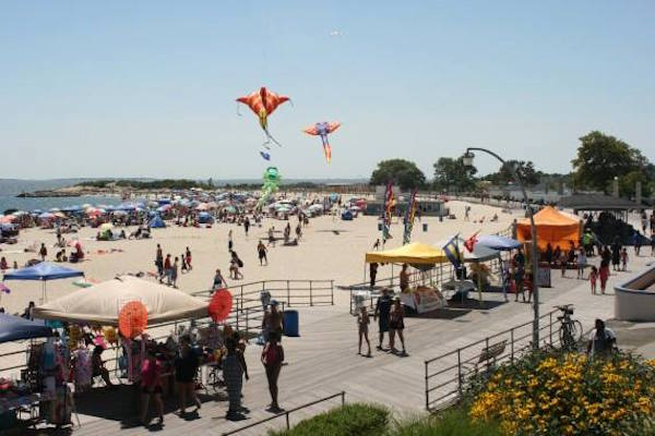 20 Best Beaches in the U.S. for Families: Ocean Beach Park, New London, Connecticut
