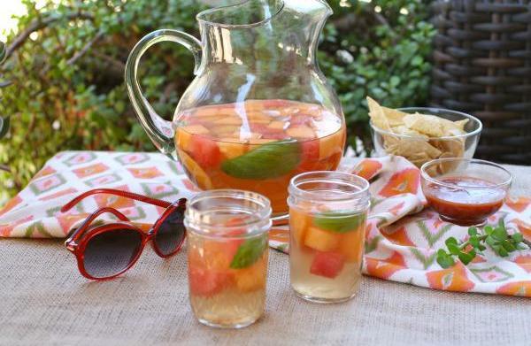 Celebrate summer solstice: Summer melon sangria