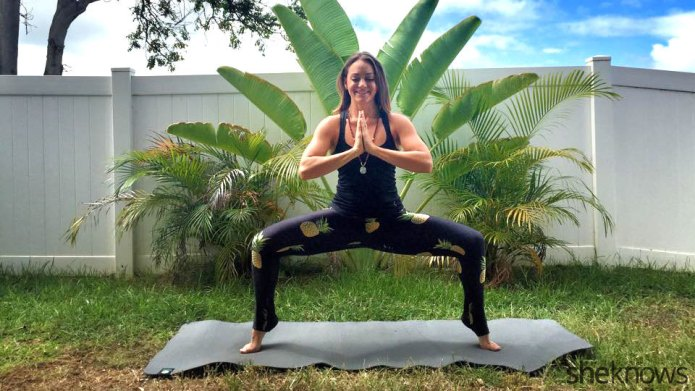6 Yoga poses that work your