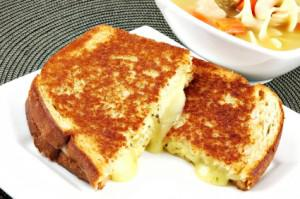 Apple Butter Grilled Cheese Sandwich