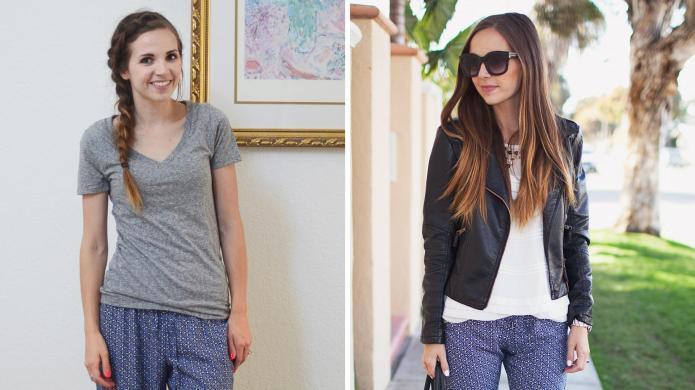 DIY: Turn old pajama pants into