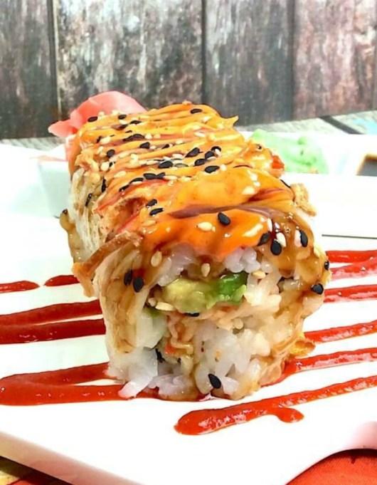 Food & TV Pairings: Shaggy Dog Sushi Roll