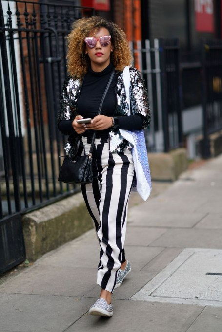 Non-Cheesy Ways to Wear Sequins: Silver sequins | Fall Fashion Trends 2017