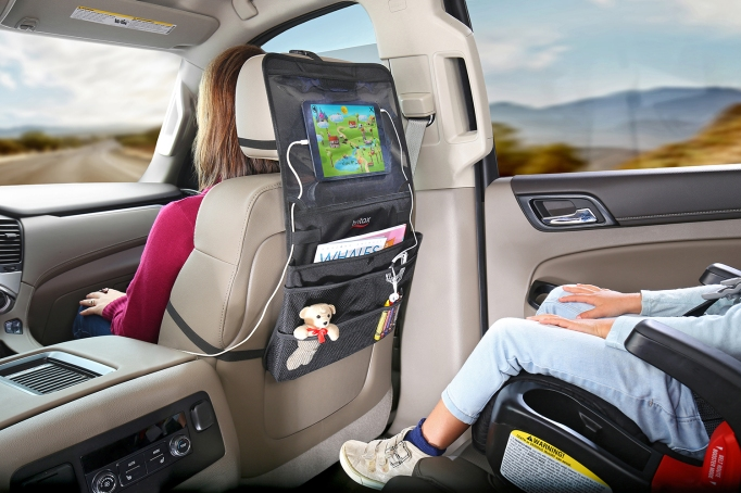 Best baby and kids products from the ABC Kids Expo 2017: Britax View-N-Go Backseat Organizer
