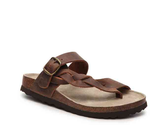 White Mountain Crawford Thong Sandal