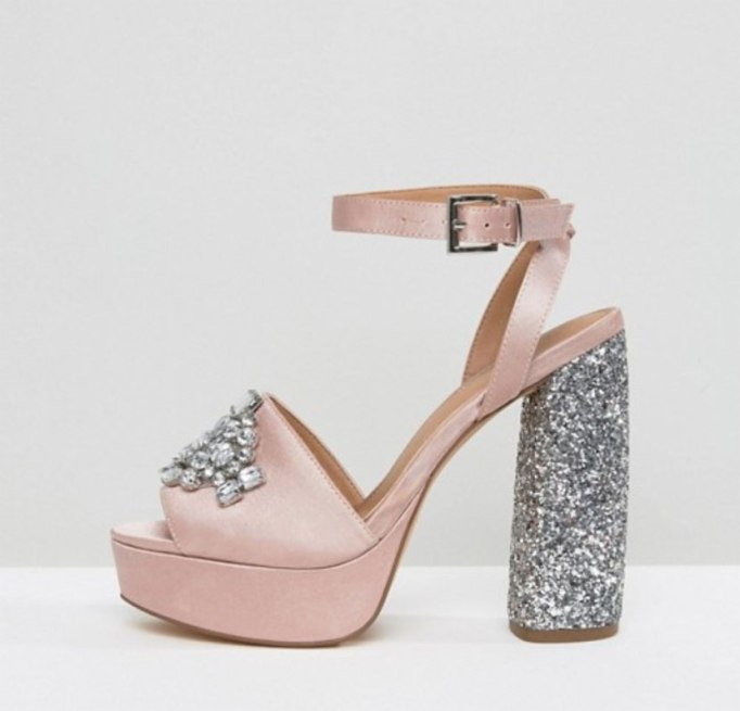 Chic Pairs Of Party Shoes | Embellished heels at ASOS