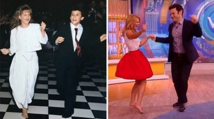 Candace Cameron Bure and Fred Savage