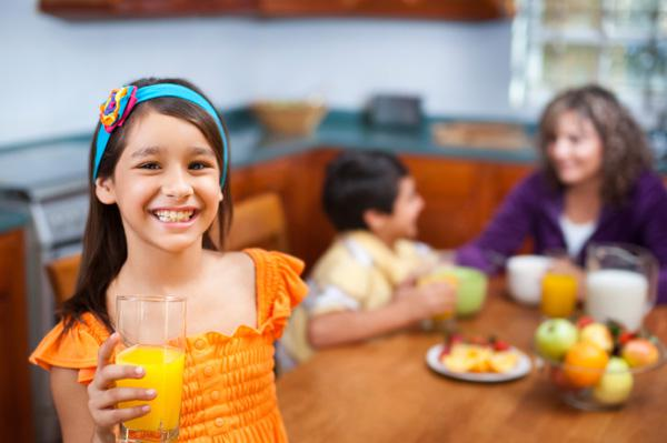 How much juice should kids be