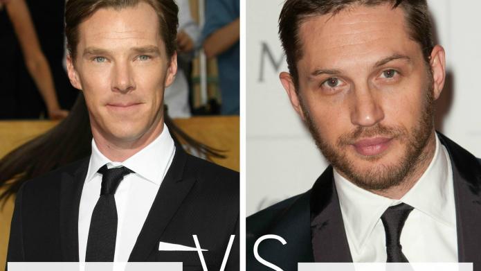 Who's hotter: Benedict Cumberbatch vs. Tom