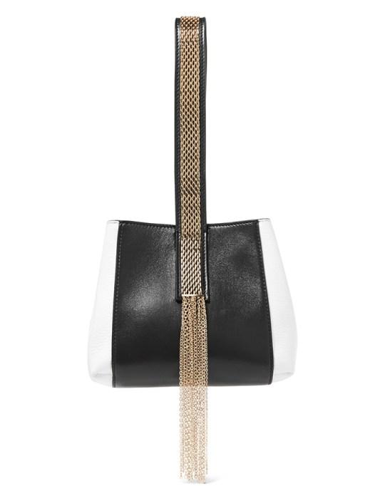 Fall fashion trends: Lanvin Chaine Two-Tone Bag | Fall Fashion 2017