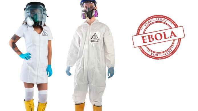 Dressing in Ebola costumes isn't just