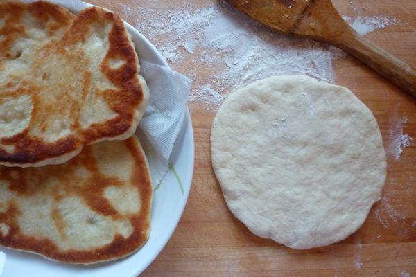 pizza dough naan