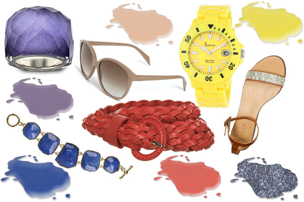 Nail polish trends and accessories