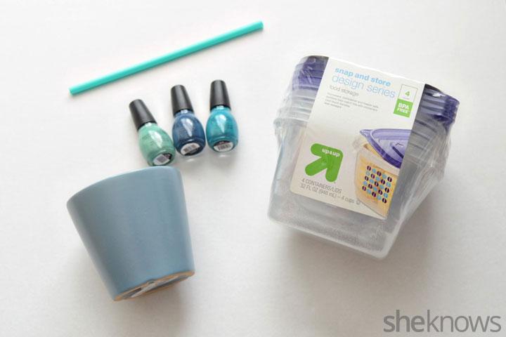 Nail polish pot DIY