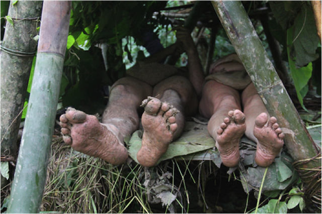 Naked and Afraid feet
