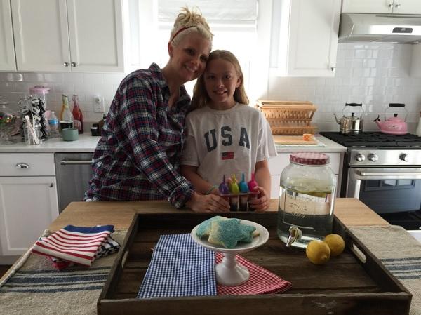 Celebrities Celebrating Independence Day: Monica Potter