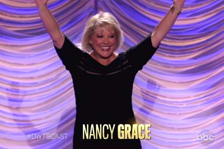 Nancy Grace talks about Dancing With the Stars