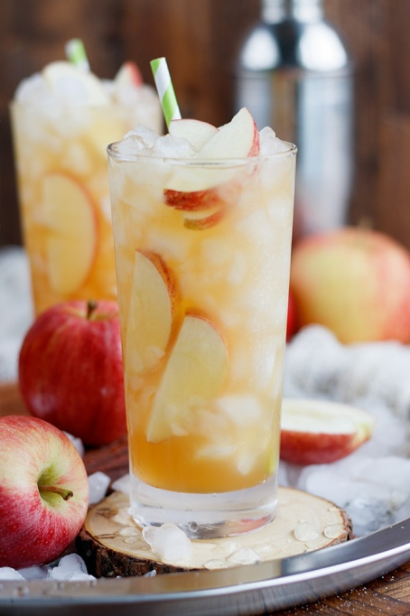 Spiked Apple Cider Recipes for All Your Fall Parties: long island apple iced tea