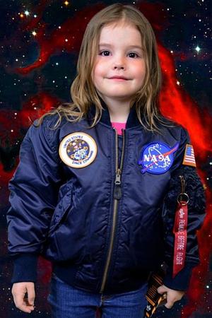 Astronaut - Halloween costume for girls