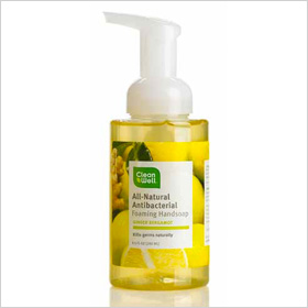 CleanWell Ginger Bergamot Foaming Hand Soap