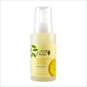 100 Percent Pure Lemon Verbena Hydrating Hand Wash