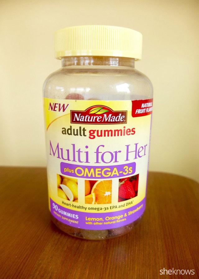Nature made multi vitamin adult gummies
