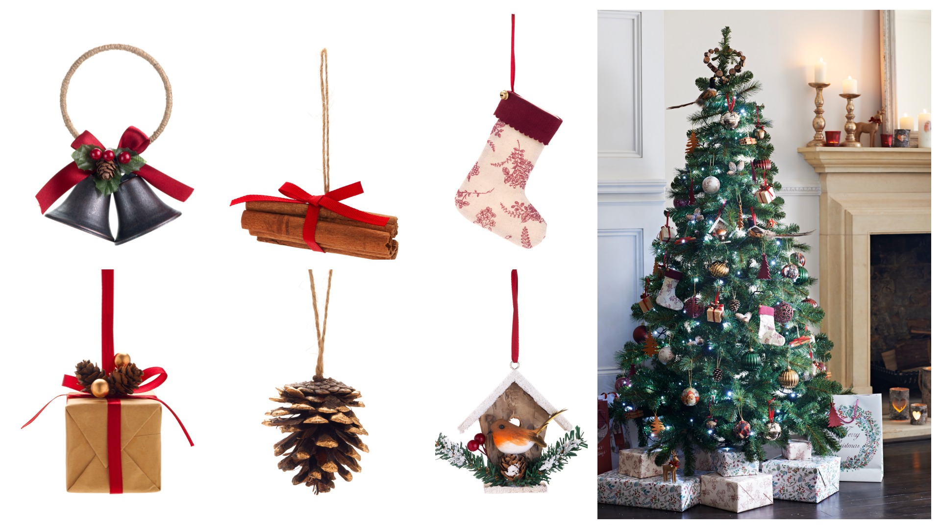Go for elegant, modern Christmas decorations this year