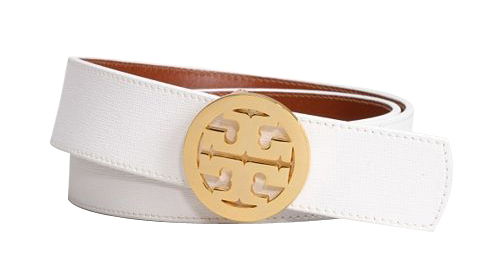 Nautical style: white belt