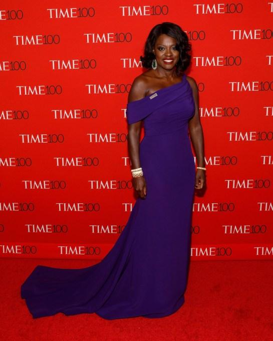 Ultra Violet On The Red Carpet | Viola Davis