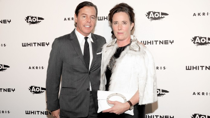 Andy and Kate Spade at AOL