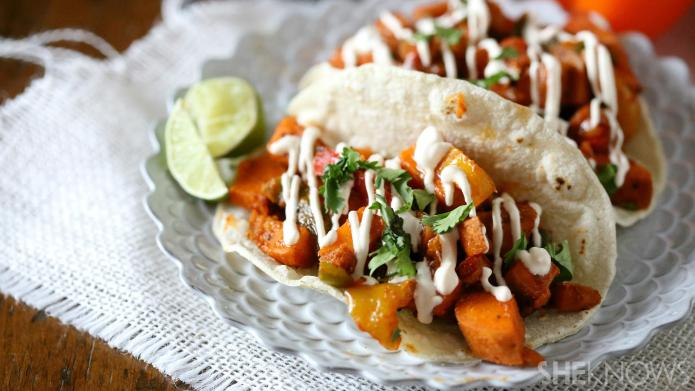 Change up taco night with spicy