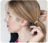 How to: Fishtail braided bun hairstyle