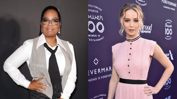 Oprah Winfrey Interviewed Jennifer Lawrence &