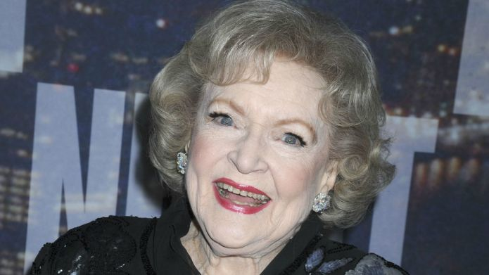 Betty White wants a piece of