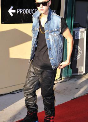 Friday's Fashion Fails: Justin Bieber and