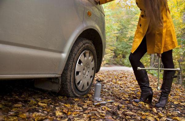 How to fix your flat tire