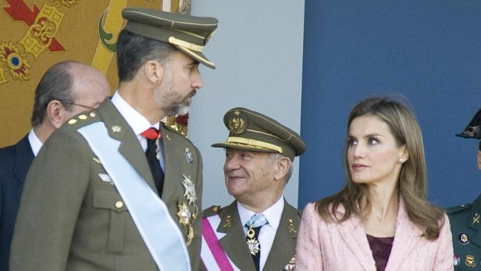 Princess Letizia gearing up to be