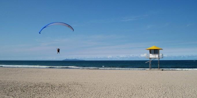 Maunganui Beach in New Zealand