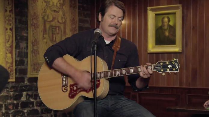 Nick Offerman's whisky song pretty much