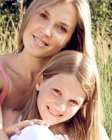 Alpha mom, alpha daughter: Confident in