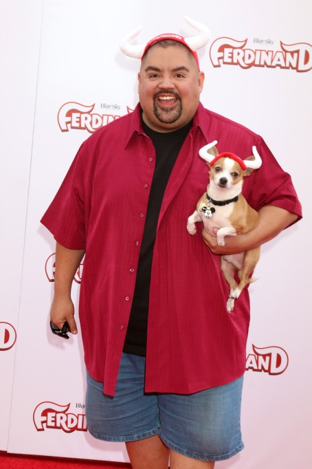 Gabriel Iglesias with his dog Vinnie