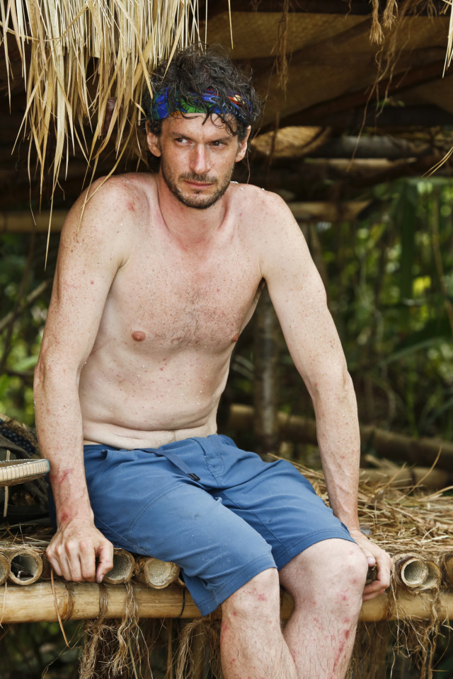 Neal Gottlieb in Brains shelter on Survivor: Kaoh Rong