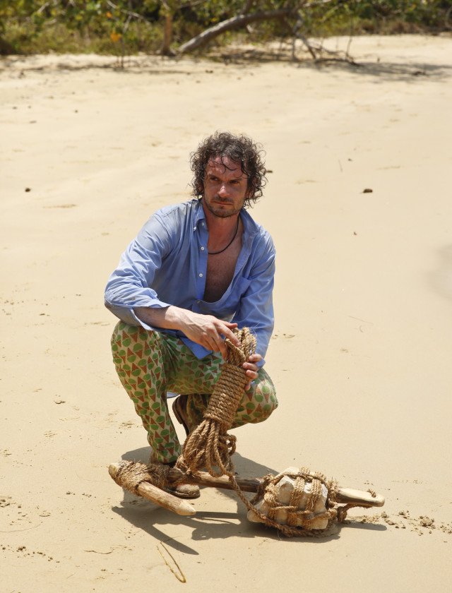 Neal Gottlieb at Brains camp on Survivor: Kaoh Rong